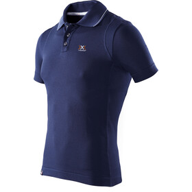 X-Bionic Travel Polo Shirt SS Herre blue marine
